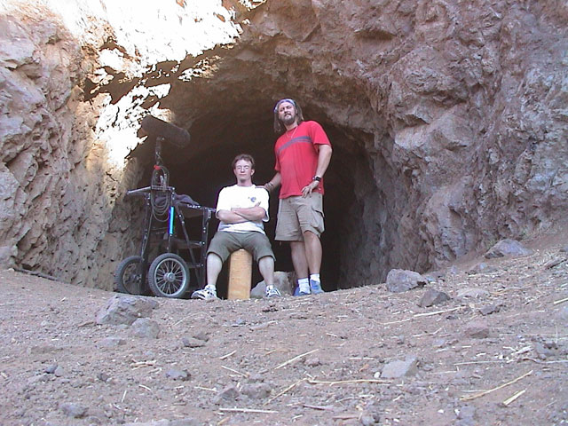 Me and Galen at the Batcave